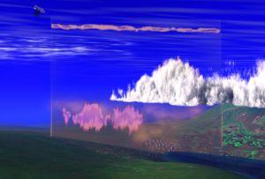 Эта картинка показывает как наблюдение за лидаром Cloud-Aerosol  и инфракрасной системой наведения спутников дает данные о вертикальной части атмосферы для изучения основных свойств атмосферы. Фото с сайта NASA. Кликните картинку для увеличения.