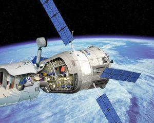 Большой грузовой корабль возвращения (A Large Cargo Return Spacecraft). С сайта Европейского Космического Агенства (кликните картинку для увеличения)