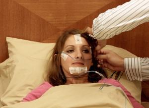 Загадочное заболевание. Ученые наблюдают нарколептического пациента. (фото: Donna E. Natale) (кликните картинку для увеличения)