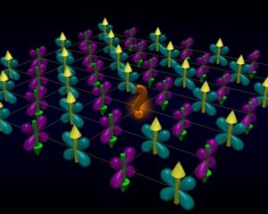 Упорядоченная структура высокотемпературного сверхпроводника в
