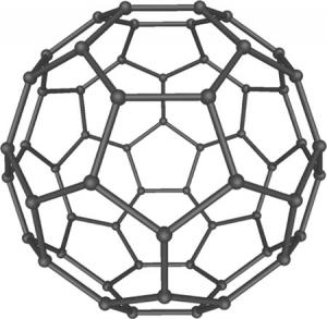 Молекула фуллерена (кликните картинку для увеличения)
