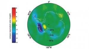 Изменение массы антарктического льда (кликните картинку для увеличения)