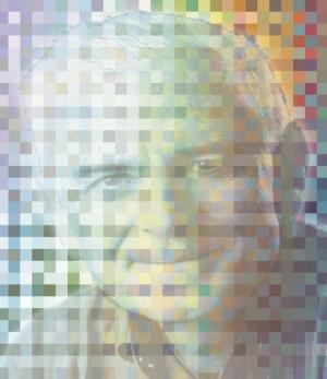 Космолог Крэйг Хоган полагает, что Вселенная эта голограмма, сделанная из мельчайших зерен (пикселей) пространства-времени. (кликните картинку для увеличения)