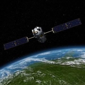 Орбитальная Обсерватория Углерода - спутник НАСА стоимостью $280 миллионов, который не смог достичь орбиты из-за проблем с головным обтекателем в прошлом году. (Изображение НАСА) (кликните картинку для увеличения)