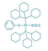 Оксоборильный тиофенильный комплекс платины