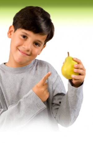 Правильное питание и должный уровень физических нагрузок<sup>1</sup> – это важные компоненты правильного образа жизни детей, которые помогут избежать проблем с лишним весом. (кликните картинку для увеличения)