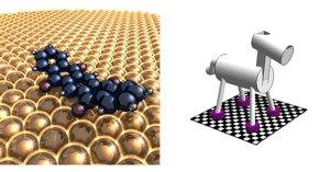 Воображаемый молекулярный механизм, способный к перемещению по плоскости.