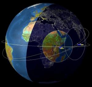 Спутниковые исследования позволили достаточно точно определить местонахождение источников грозового гамма-излучения. (кликните картинку для увеличения)