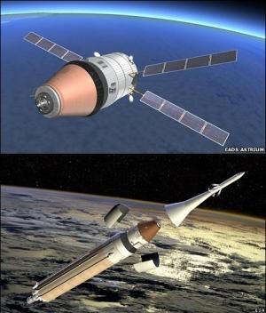 Уже в 2017 году европейский грузовой космический корабль с возвращаемой капсулой может совершить свой первый полет (кликните картинку для увеличения)