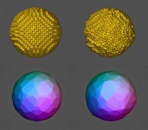 Наночастицы золота. (кликните картинку для увеличения)