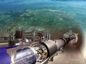 Большой Адронный Коллайдер. (кликните картинку для увеличения)