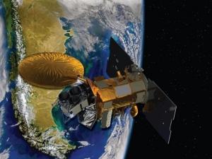 Aquarius/SAC-D в представлении художников НАСА (кликните картинку для увеличения)