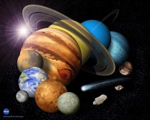 Как происходила эволюция Солнечной системы? Об этом сегодня сообщает Nature (Изображение НАСА) (кликните картинку для увеличения)