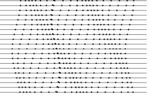Графическая модель квазичастицы, известной как фонон. (кликните картинку для увеличения)