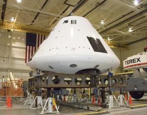 Разрабатываемый НАСА КА Orion. (Изображение НАСА) (кликните картинку для увеличения)