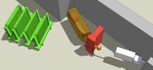 Схематическое изображение созданной экспериментальной установки. (кликните картинку для увеличения)