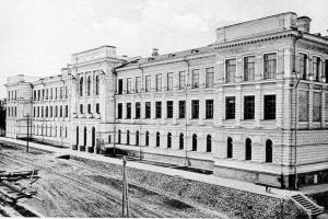 Здание основанного в 1896 году Томского технологического института, ныне – Национальный исследовательский Томский политехнический университет (кликните картинку для увеличения)