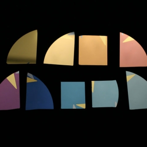 Примеры германиевых покрытий разной толщины, позволяющих получить различные цвета. (кликните картинку для увеличения)