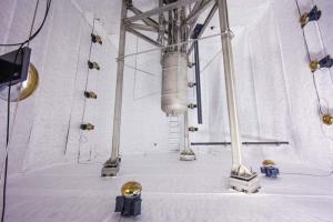Фото экспериментальной установки, использовавшейся для изучения свойств нового покрытия. (кликните картинку для увеличения)