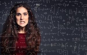 Многие люди подвержены более высокому риску испугаться математики не только по причине негативного опыта, но так же и по причине наличия генетических предпосылок. (кликните картинку для увеличения)