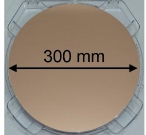 Фрагмент крупномасштабной графеновой пленки, созданный научной группой. (кликните картинку для увеличения)
