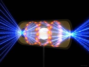 Схематическое изображение эксперимента, в рамках которого были предложены способы управления поляризацией мощного лазерного излучения. (кликните картинку для увеличения)